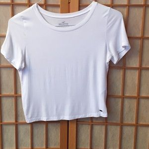 Hollister White Tee